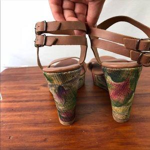 Sundance Shoes - Sundance wedge platform sandal
